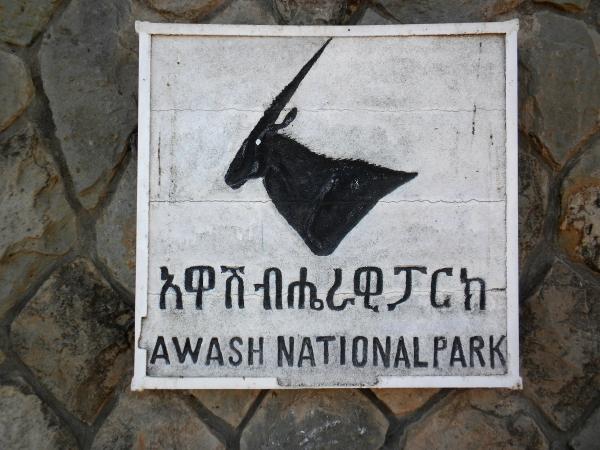awash