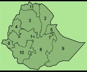Ethiopie staten