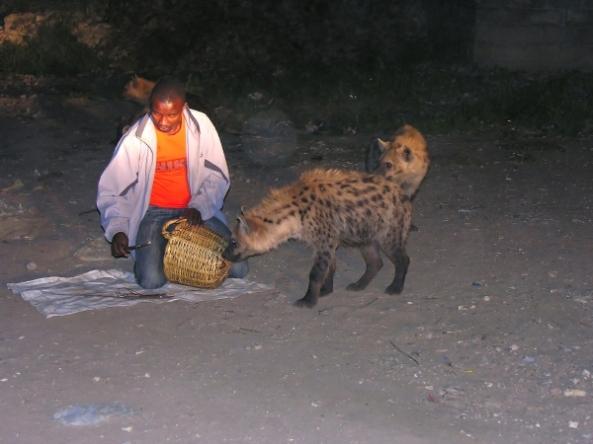 hyena man